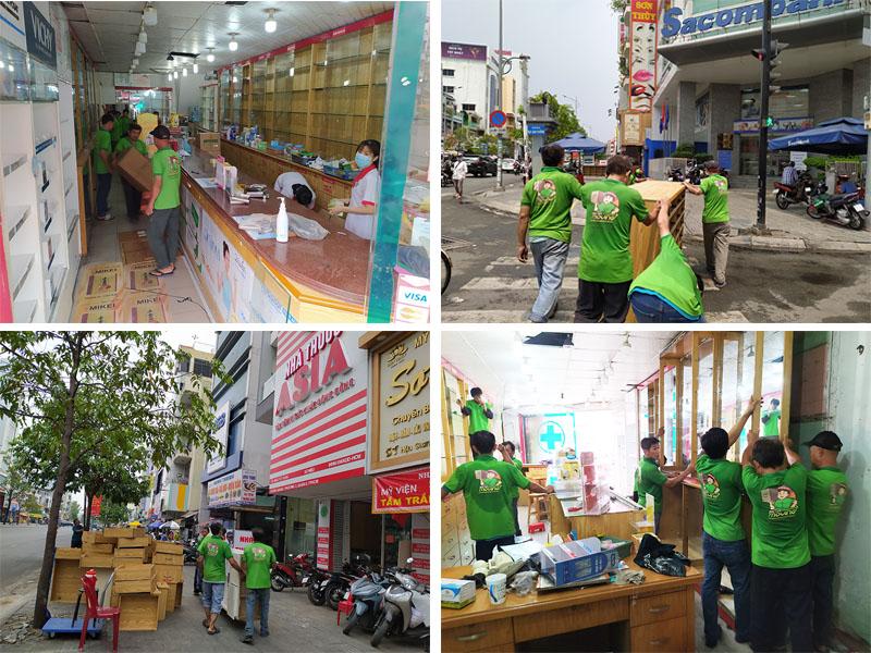 Quá trình vận chuyển nhà thuốc tây Á Châu, Quận 6